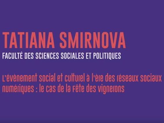 Fête des Vignerons 2019 - Recherches sur les réseaux sociaux numériques