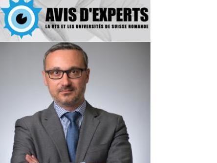 "20.03.19 - RTS : ""Avis d'experts""  -  Prof. Alain Macaluso"