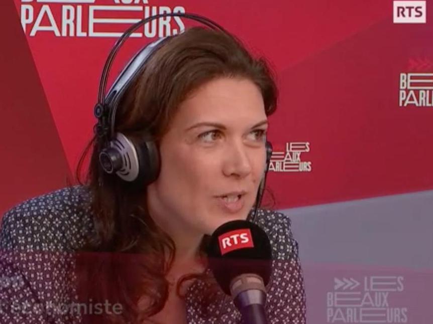 Sophie Swaton, l'invitée des «Beaux parleurs» sur les ondes de la RTS