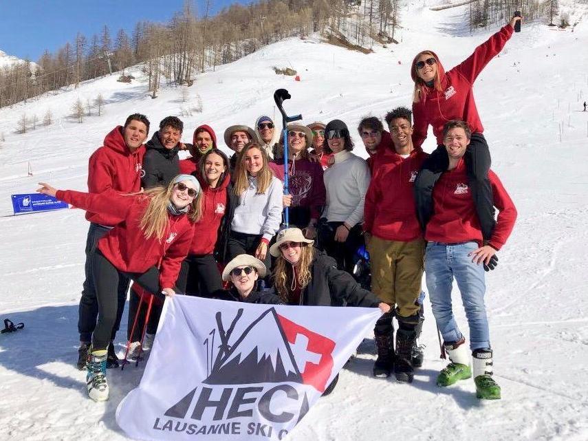 Excellentes performances du HEC Lausanne Ski Club