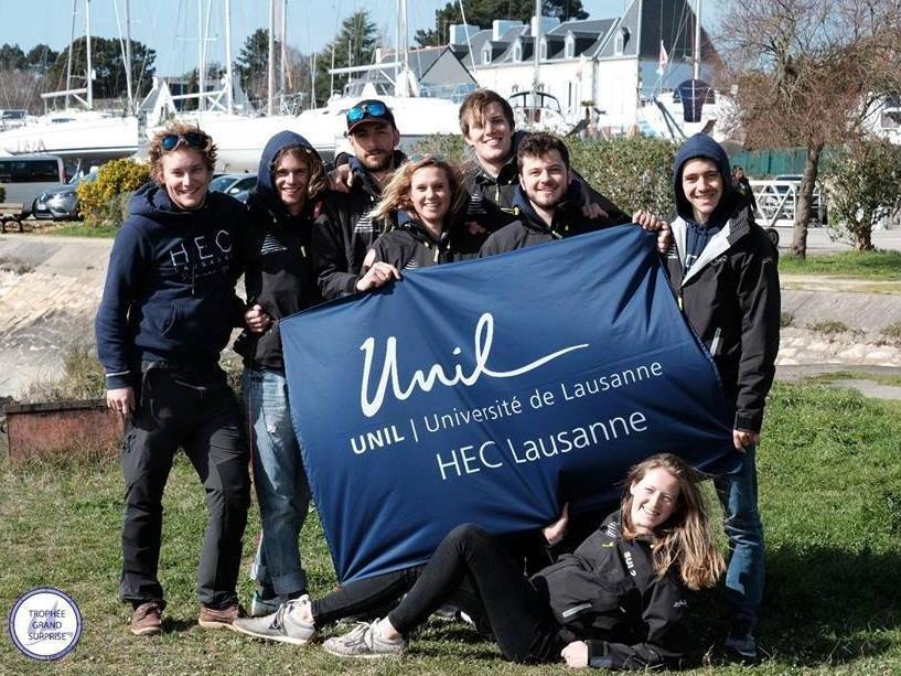 La HEC Lausanne Sailing Team remporte la deuxième place du Trophée Grand Surprise