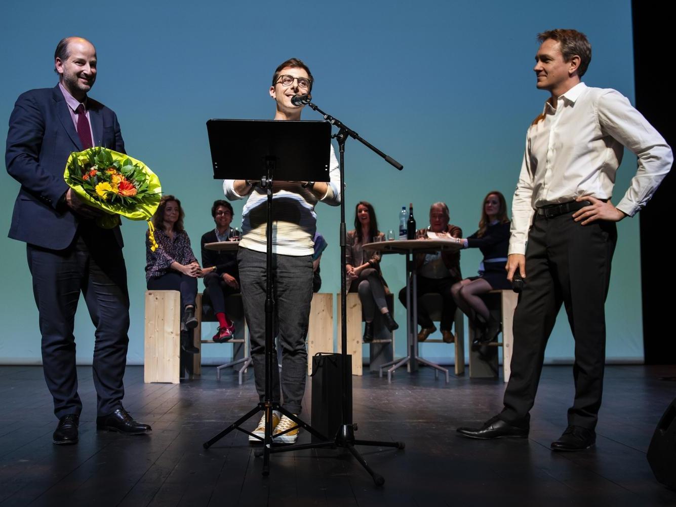 Bruno Pellegrino lauréat du Prix des lecteurs de la Ville de Lausanne 2019