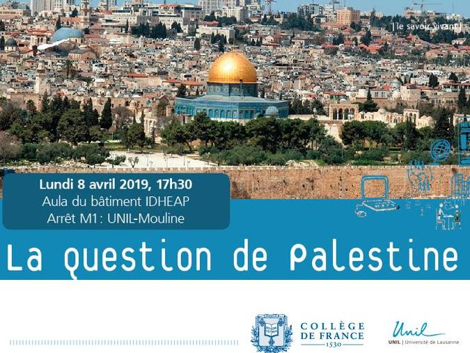 Vidéo de la conférence du Prof. Henry Laurens