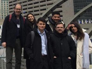 Des étudiant·e·s du MA en science po au Canada