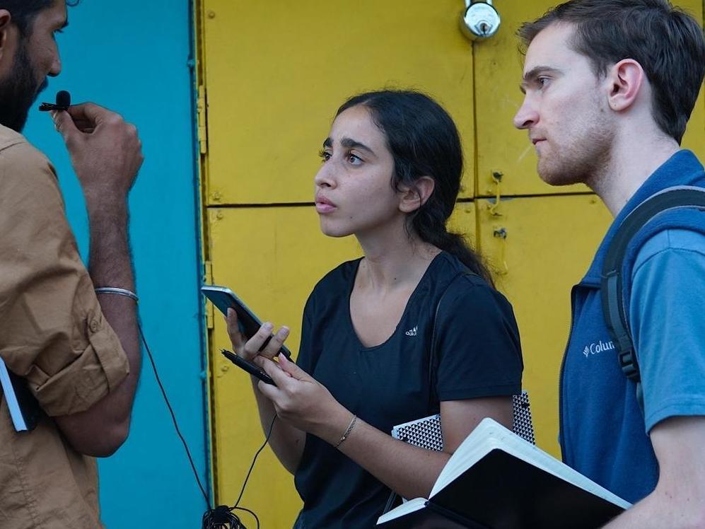 Des étudiant·e·s de HEC Lausanne conçoivent des solutions sociétales en Inde