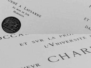 Doctorats honoris causa décernés en Suisse