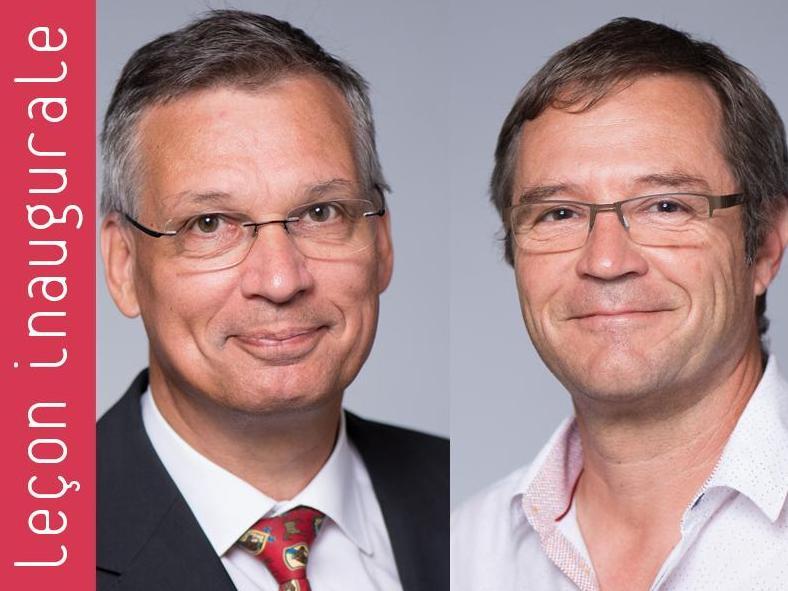 Leçons inaugurales des Profs Maurice Matter & Marc Worreth