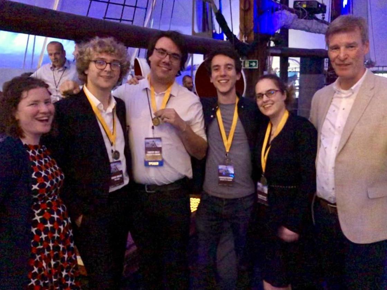 Une équipe de l'ESC gagne une compétition en investigations numériques