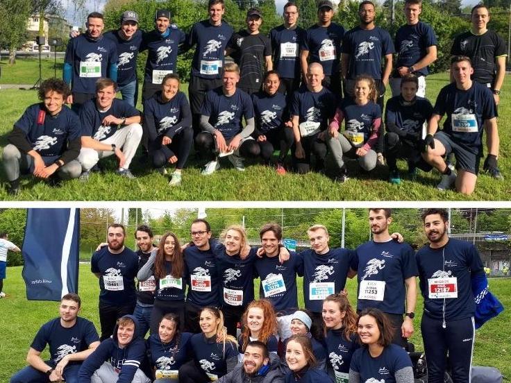 Les HEC Runners au meilleur de leur forme aux 10km/20km de Lausanne!