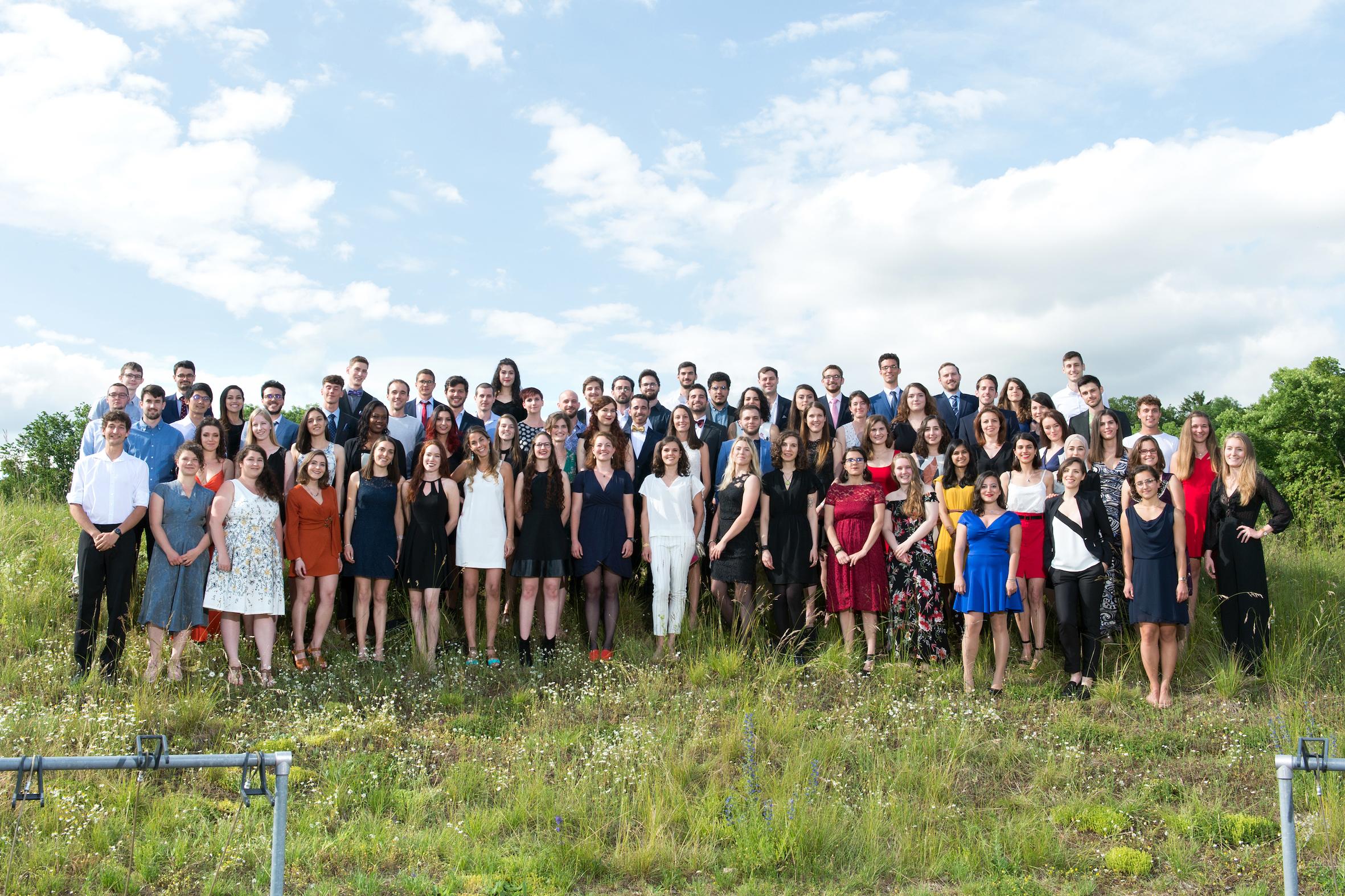 Cérémonie de remise des Masters en biologie 2019