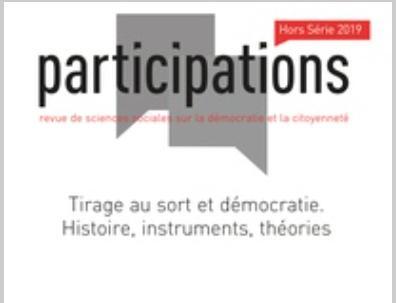 Tirage au sort et démocratie. Histoire, instruments, théories.