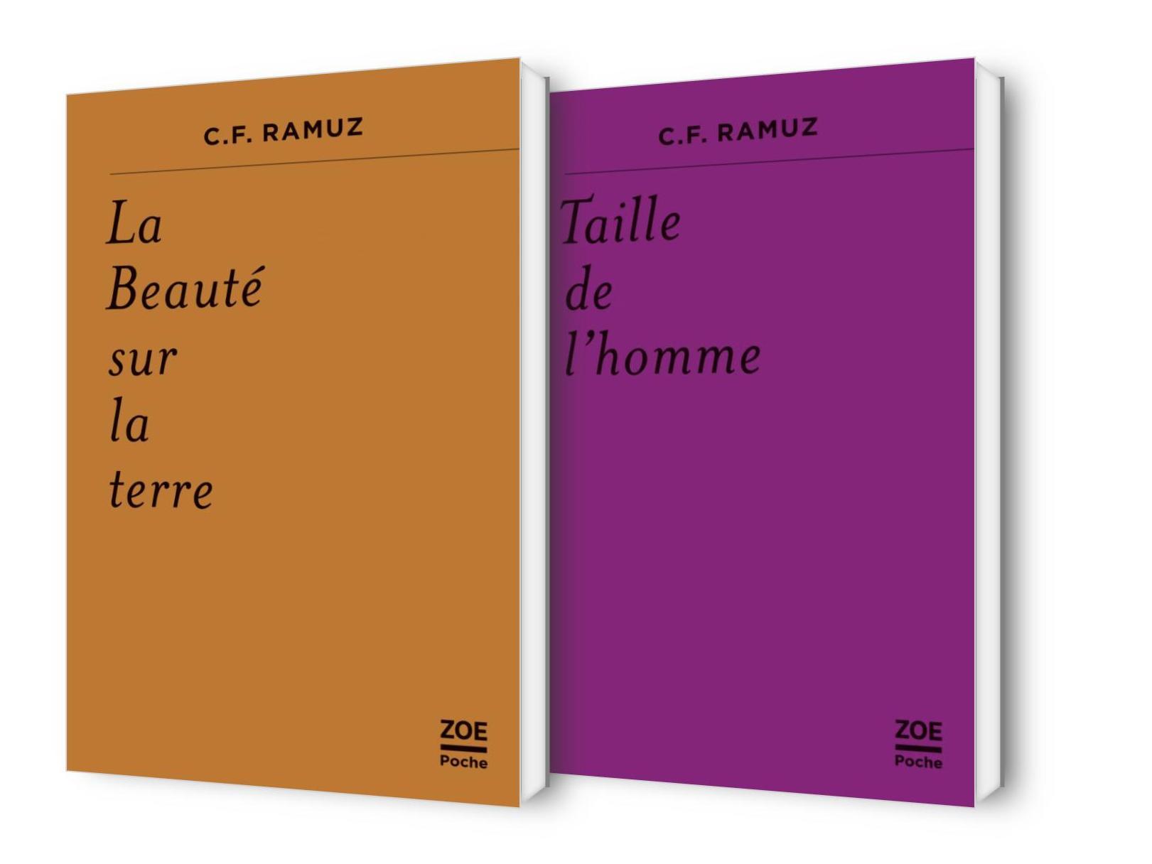 """""""La Beauté sur la terre"""" et """"Taille de l'homme"""" de C. F. Ramuz"""