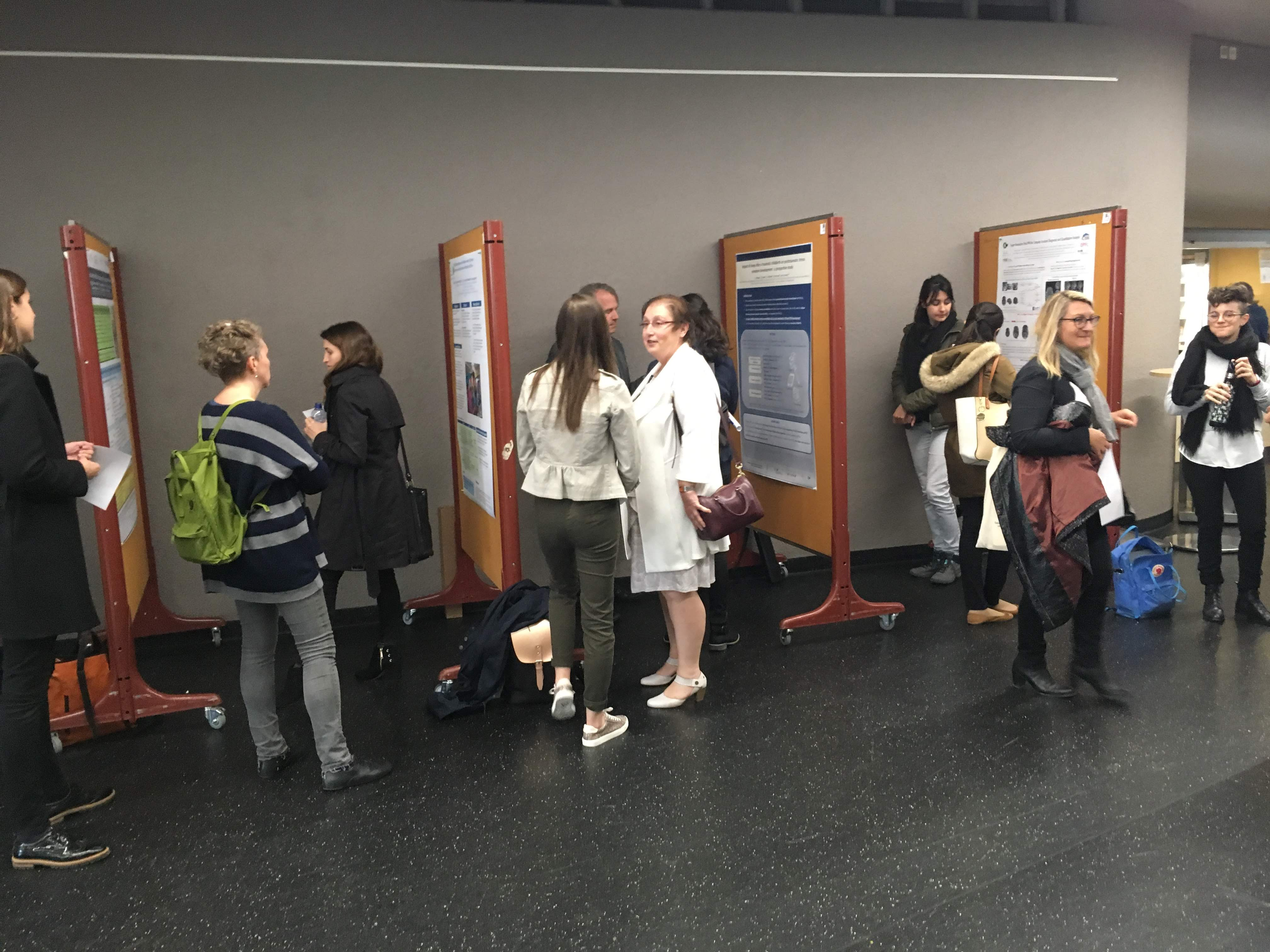 The first Swiss Perinatal Research day hosted by the Lausanne Perinatal Research Group and funded by the FNS Scientific Exchanges grant and the Faculty of Medicine and Biology of the University of Lausanne was held on the 17th May.