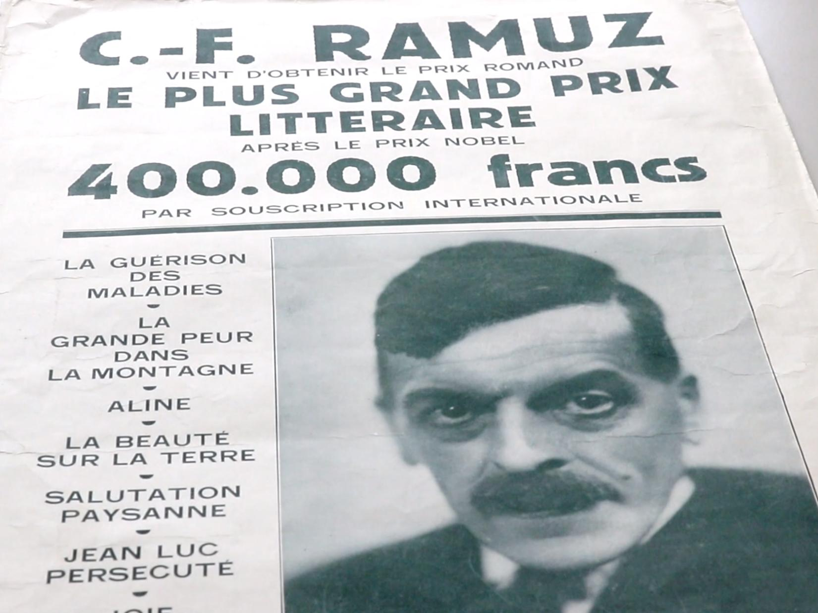 Qui était Ramuz ?