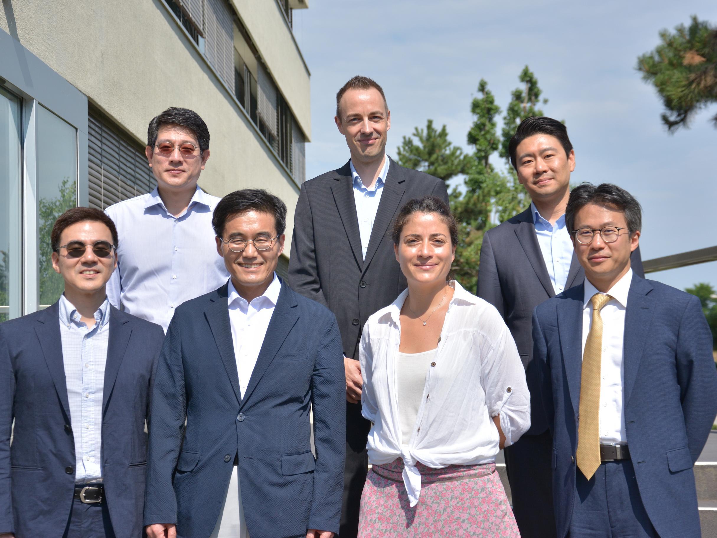 L'IDHEAP reçoit la visite d'une délégation sud coréenne
