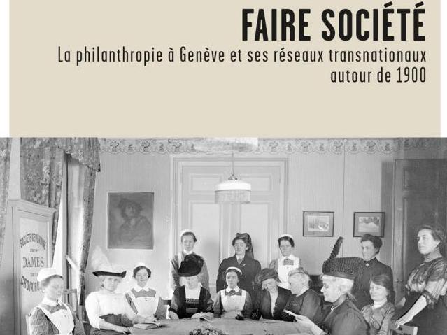 """Parution du livre """"Faire société"""" de Thomas David et Alix Heiniger"""
