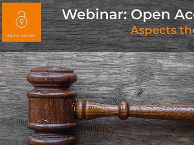 """Enregistrement et ressources du Webinaire """"Open Access et droit d'auteur"""""""