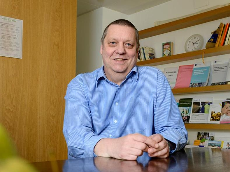 Le Prof. Gerhard Gmel reçoit le Prix Jellinek 2019