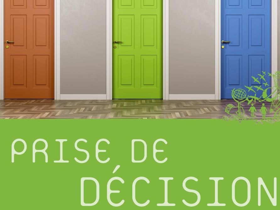 Cycle de conférences: La prise de décision