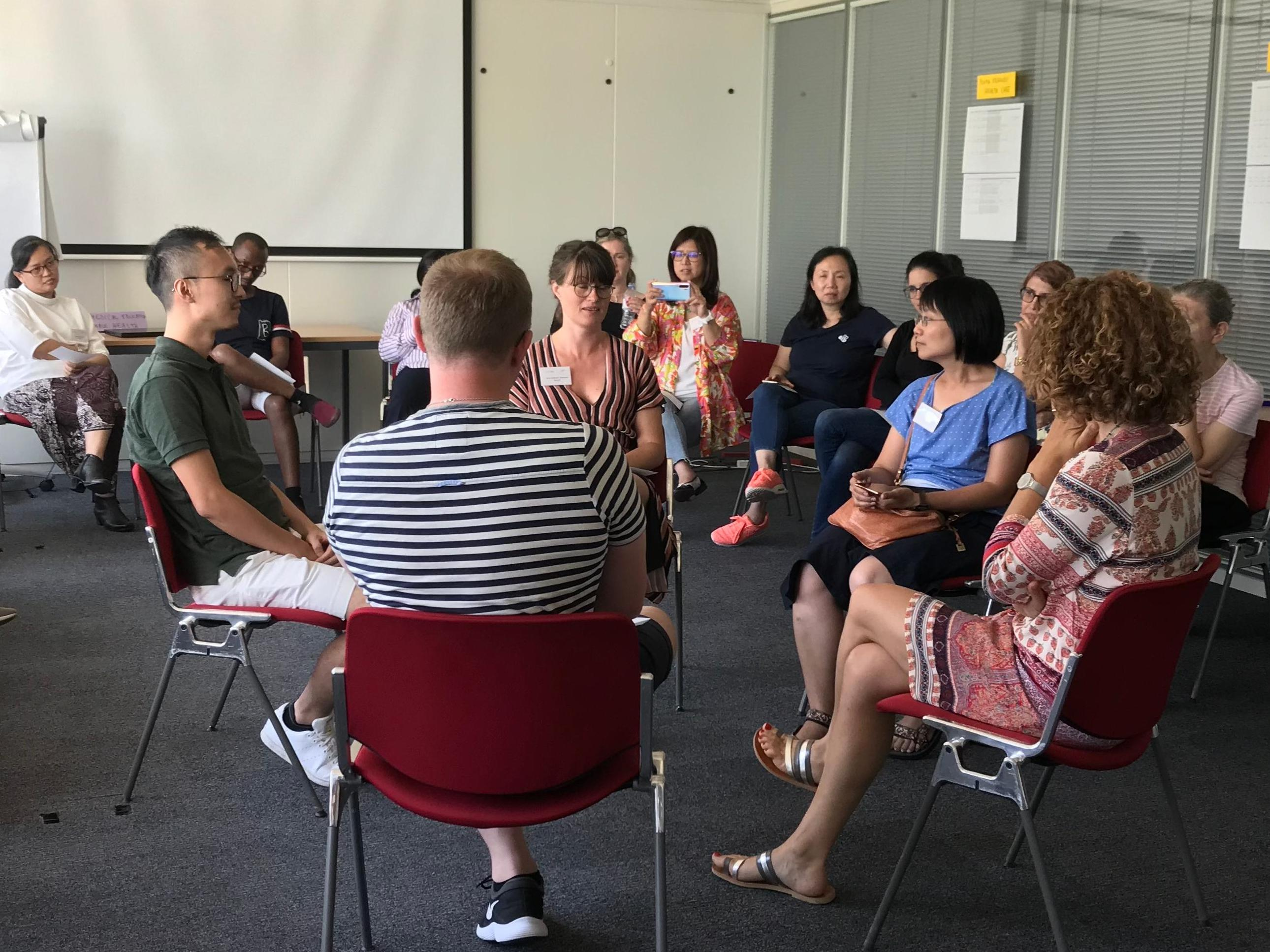 European training in effective adolescent care and health