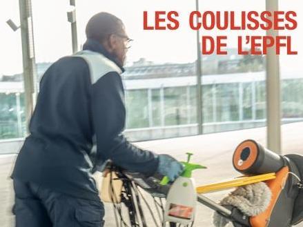 Vernissage : Les coulisses de l'EPFL