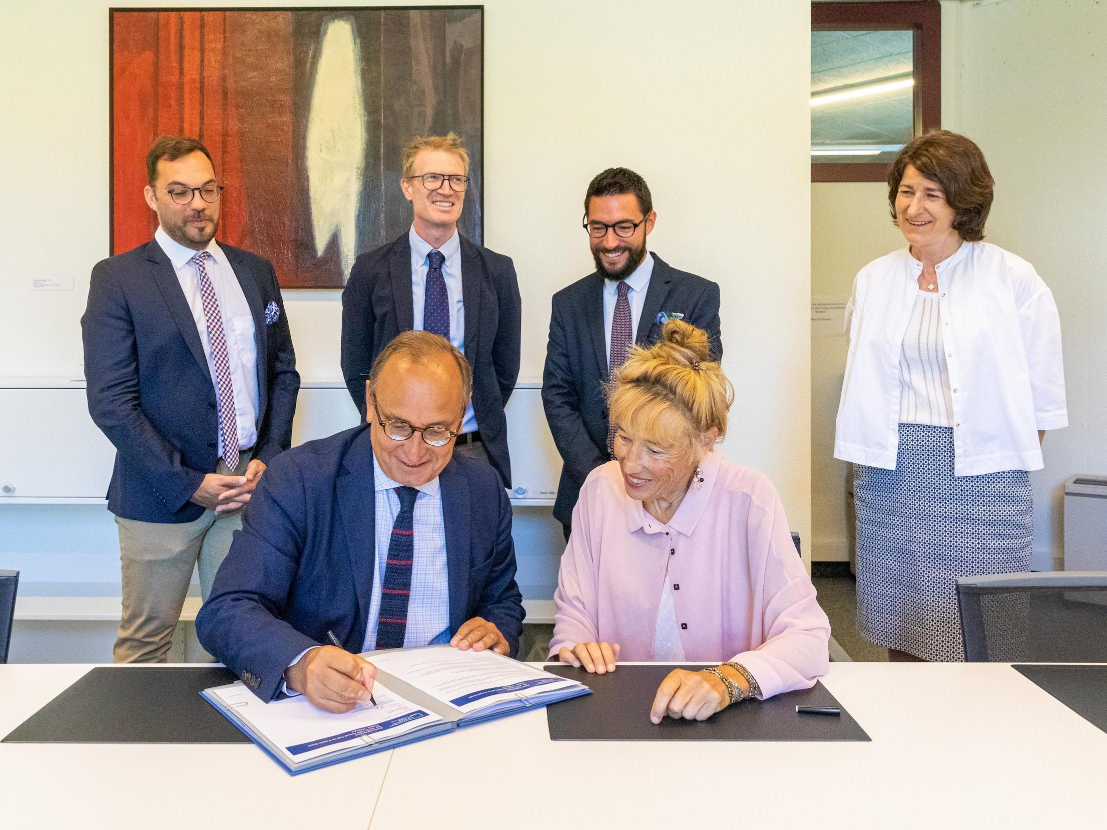 Le projet Collart-Palmyre reçoit le soutien de l'ALIPH
