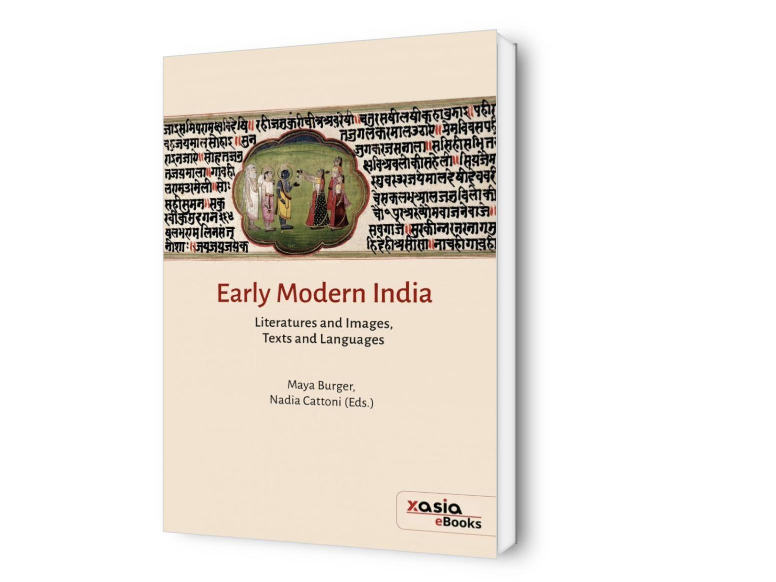 Early Modern India, Literatures and Images, Texts and Languages