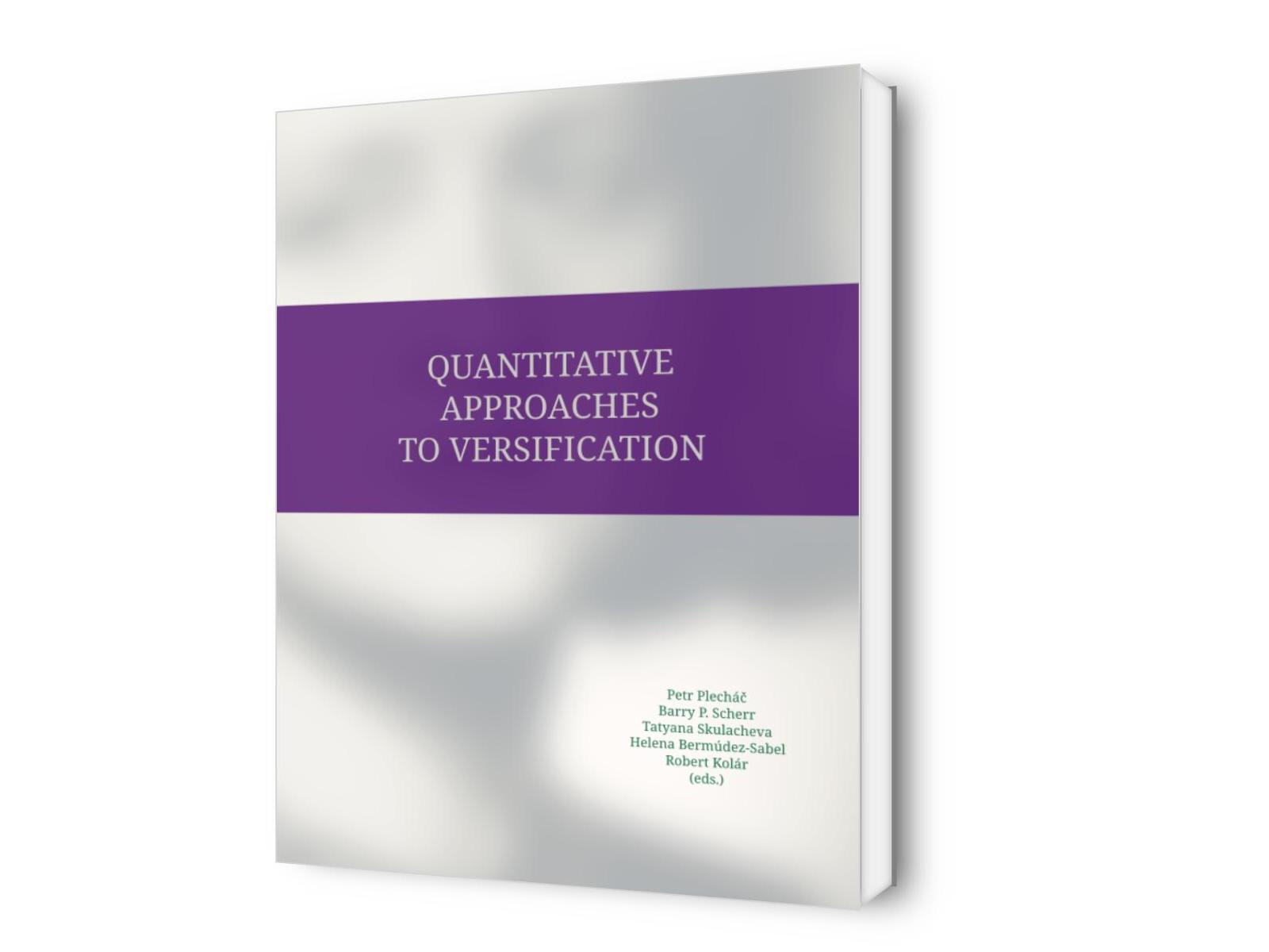 Quantitative Approaches to Versification