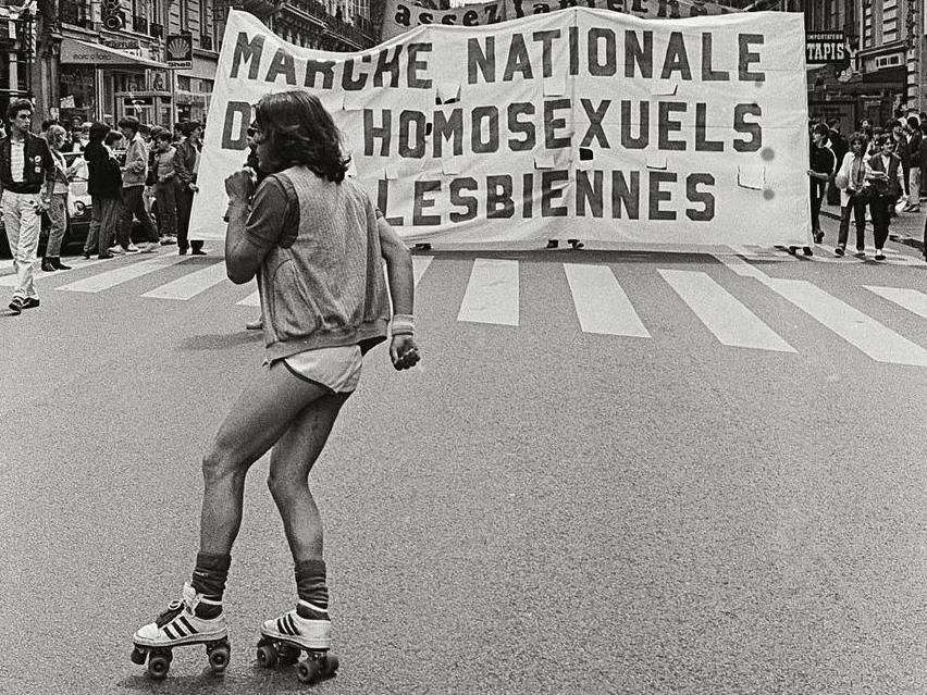 Les mouvements lesbiens, homosexuels et trans en France.  Années 70 et 80