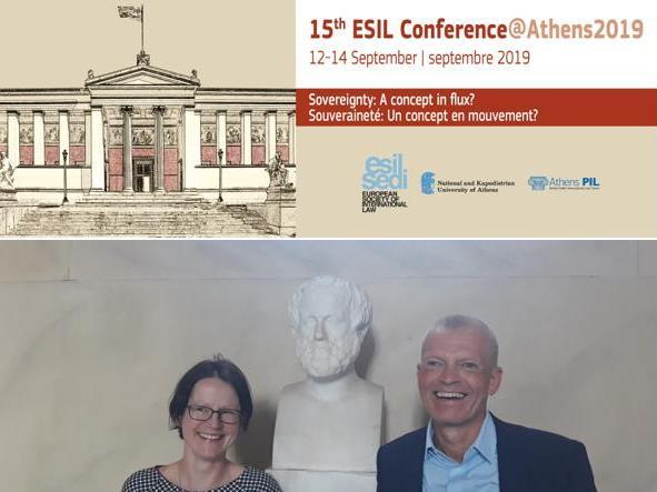 Conférence annuelle de la Société européenne de droit international à Athènes
