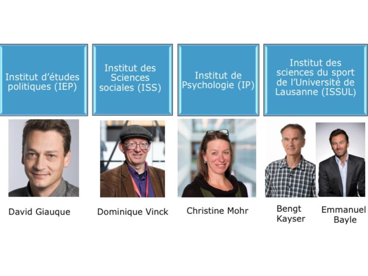 Bienvenue aux nouvelles et nouveaux directeurs·trices d'Instituts